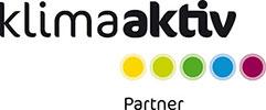 Klima aktiv partner logo.